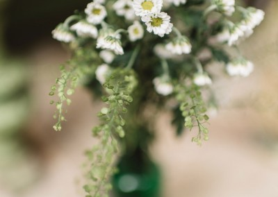 Flowers-in-green-glass
